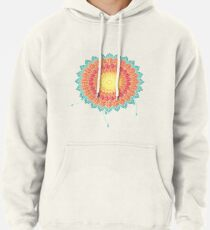 Colorful Nature Mandala Pullover Hoodie