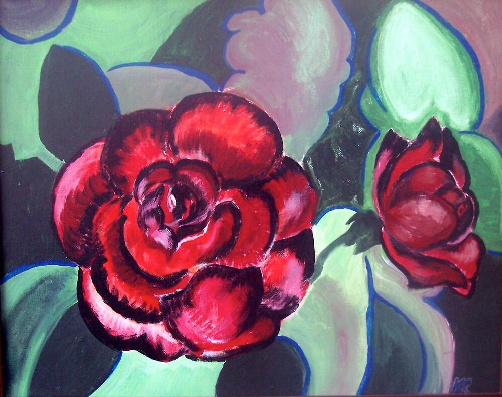 Roses by IowaArtist