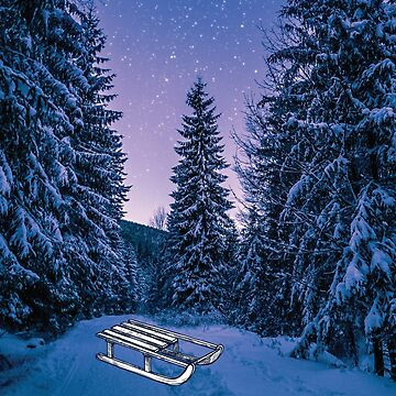 Winter Night by GeometricLove