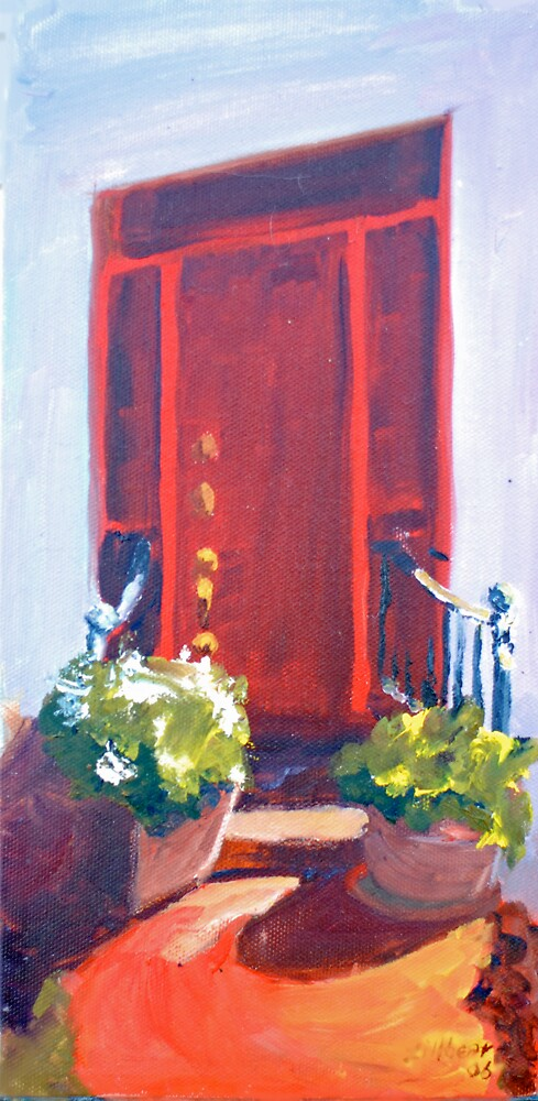 Red Door South Street, Easton by Phyllis Dixon