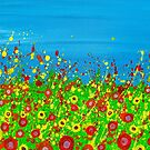 Through the Dancing Poppies by LaHickmana