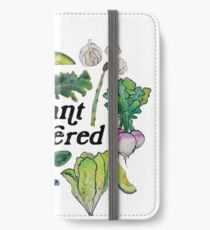 Plant Powered iPhone Wallet/Case/Skin