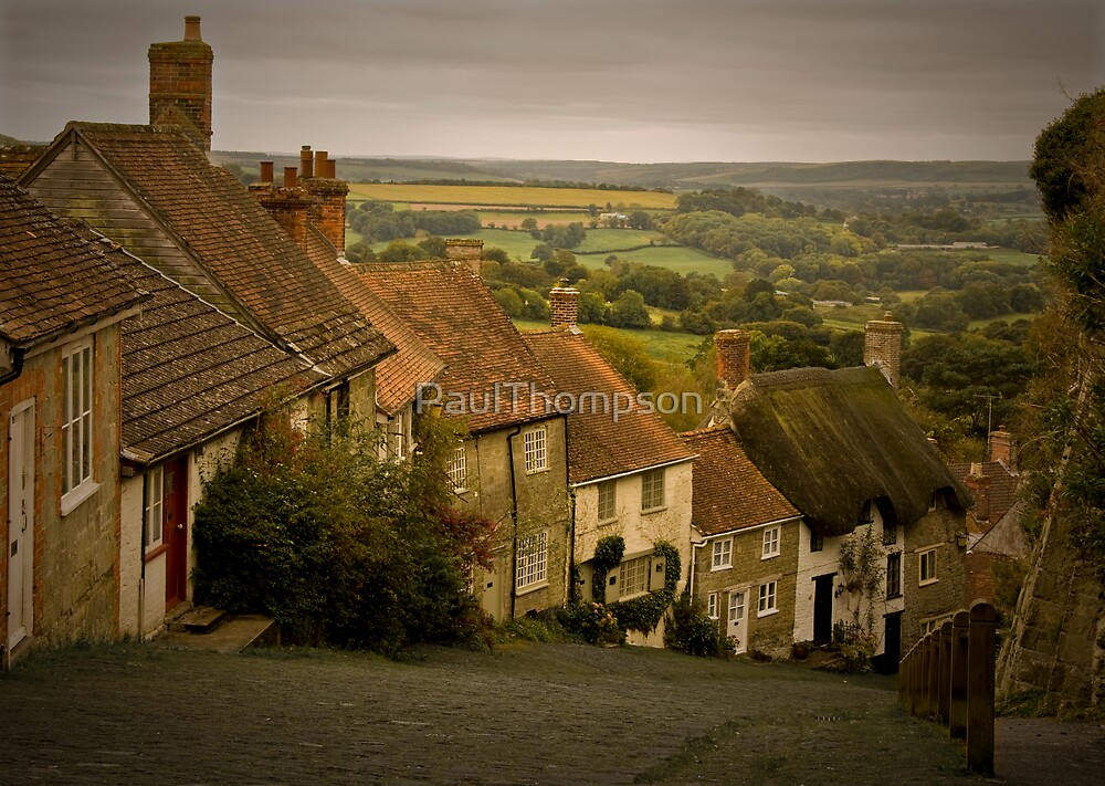 Gold Hill  Dorset by PaulThompson