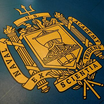 United States Naval Academy - Coat Of Arms by ctheworld