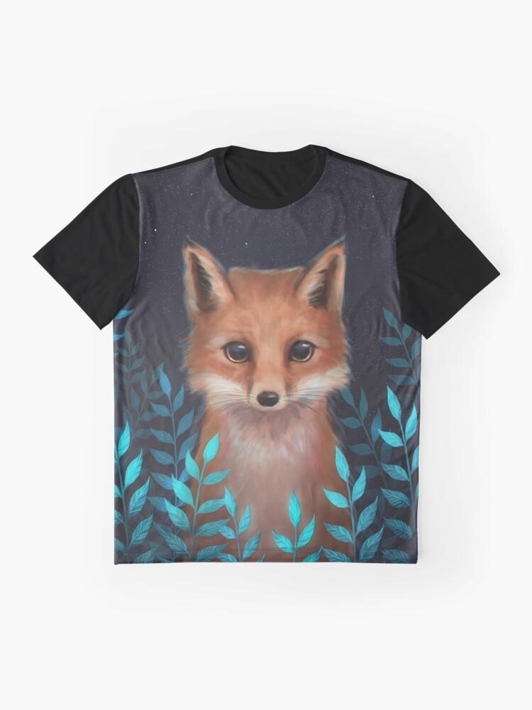 Alternative Ansicht von Fuchs Grafik T-Shirt
