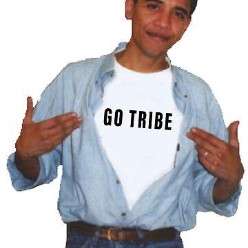 go tribe obama by jelantzy