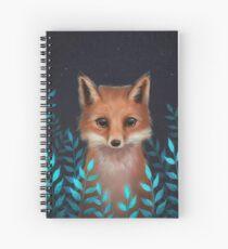 Cuaderno de espiral zorro