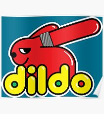 Duplo Dildo Poster