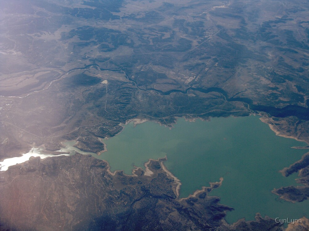 Over Arizona by CynLynn