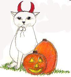 Devil custume cat by harriet7