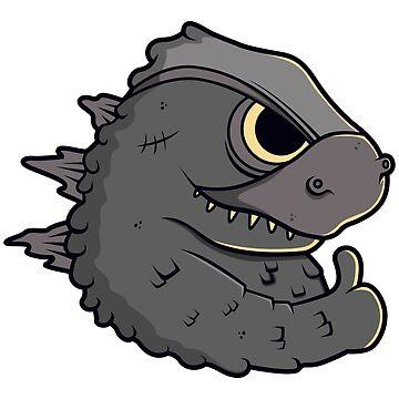 Cute Godzilla Design by mBshirts