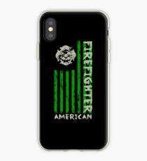 American Firefighter St Patricks Day Irish iPhone Case