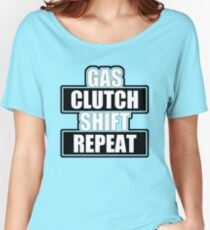 Gas clutch shift repeat Women's Relaxed Fit T-Shirt