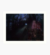 Midnight Visitor Fore the Hallows Art Print