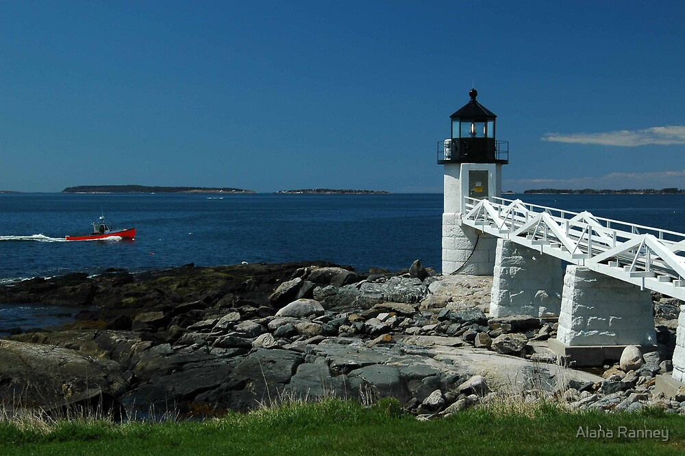 Marshall Point Lighthouse by Alana Ranney