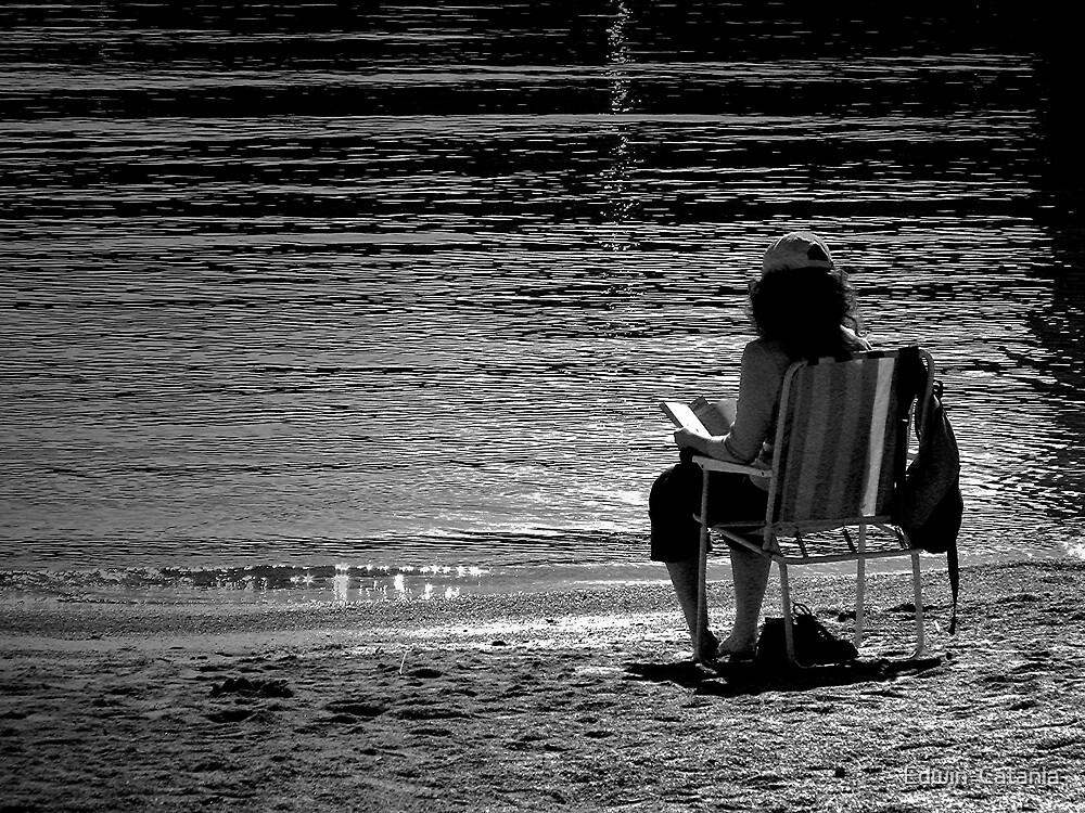 Beach Thriller by Edwin  Catania