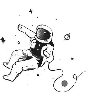 Astronaut Makes His Escape by VictorIos