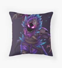 Raven (No BG) Throw Pillow