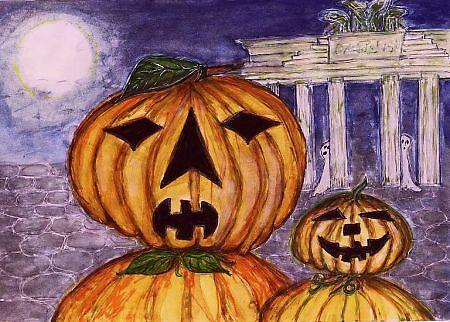 Berlin Pumpkin by Ella Meky