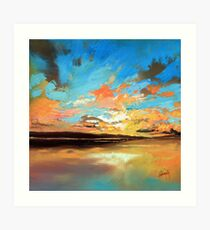 Warm Reflections Art Print
