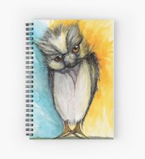 A Happy Owl Spiral Notebook