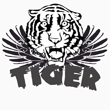 Tiger t-shirt by valizi