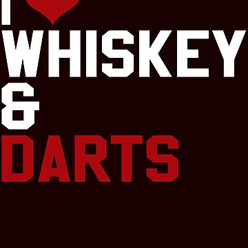 Whiskey and darts by schnibschnab