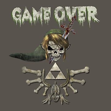 Game Over Link by GoMerchBubble