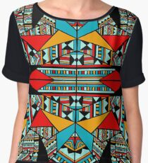 Zazzle Black Chiffon Top