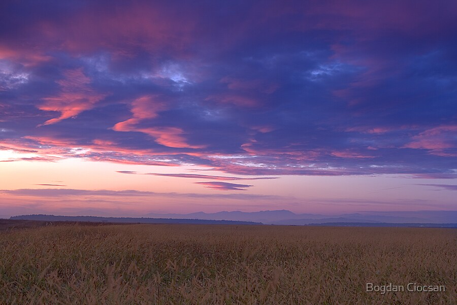 Autumn Sunset by Bogdan Ciocsan