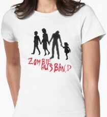 Zombie Hubby Women's Fitted T-Shirt