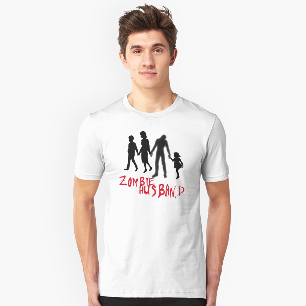 Zombie Hubby Unisex T-Shirt Front