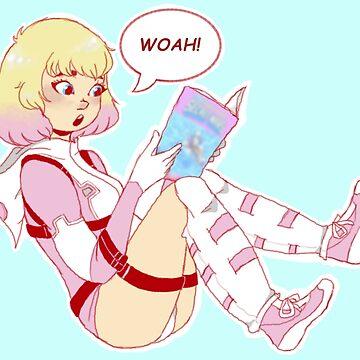 Woah! Gwenpool! by eternalsilver