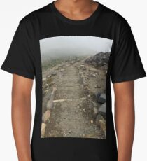 Mount Rainier path Long T-Shirt