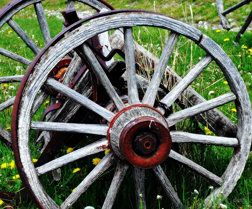 Rustic Wheel by siwilk