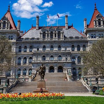 NYS Capitol by KENDALLMcKERNON