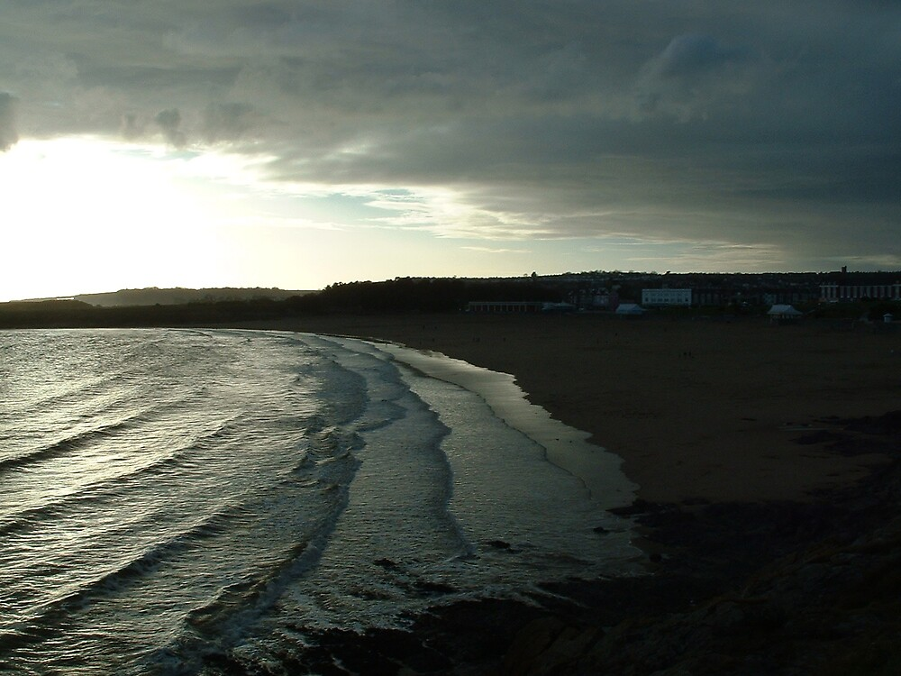 Barry Island at sunset by MeJude