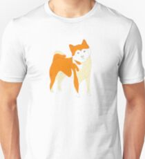 Shiba Inu paper cutout Unisex T-Shirt