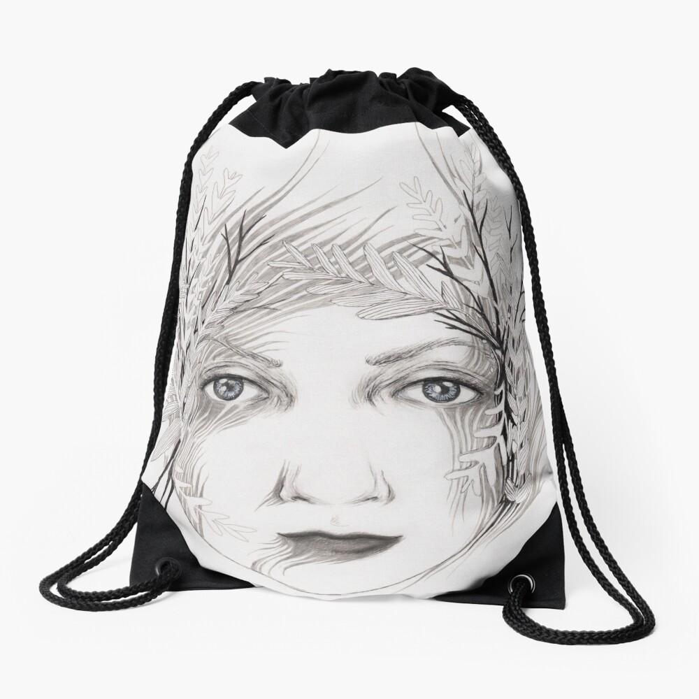 Mother Nature Drawstring Bag