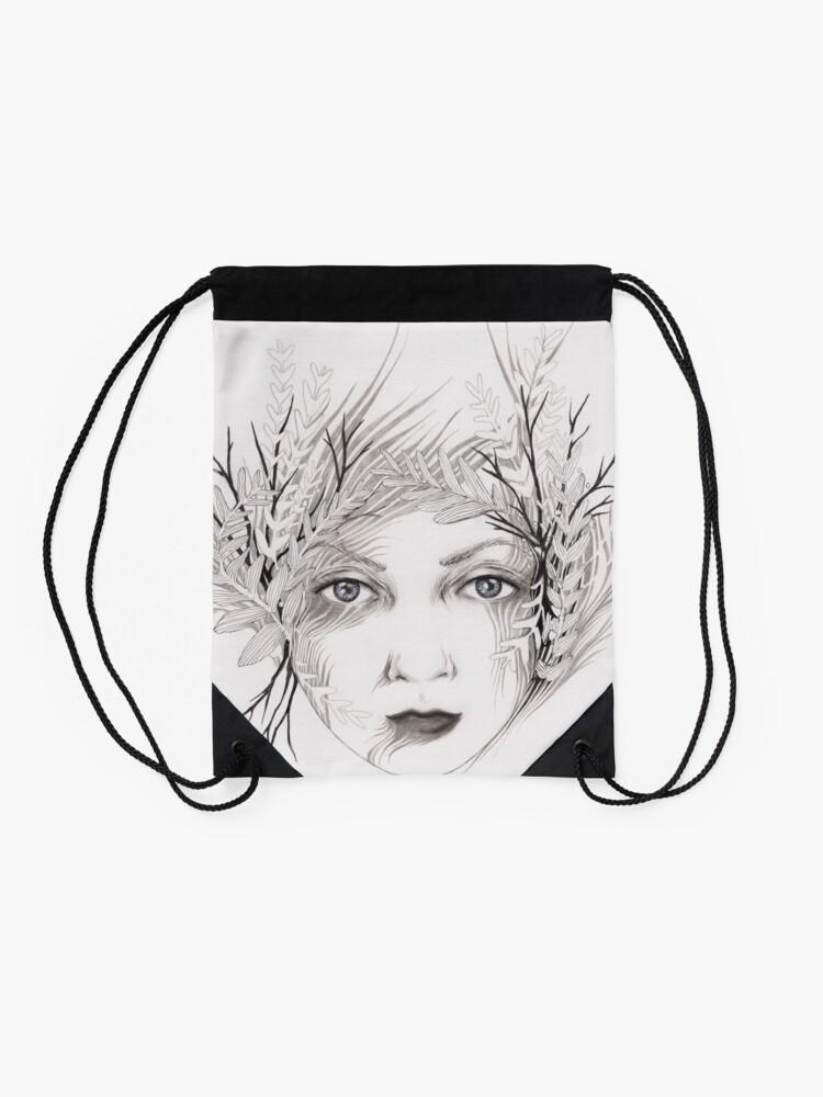 Alternate view of Mother Nature Drawstring Bag