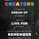 CREATORS by JBurkeDigital