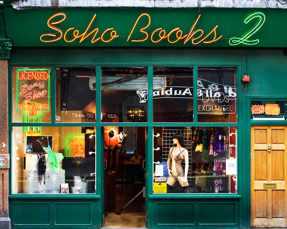 Soho Book Store  by Autofocus