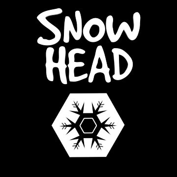 Snow head snowflake by phys