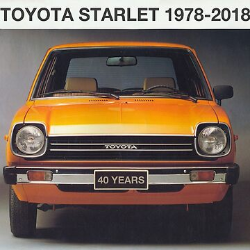 Toyota Starlet 40 Years by andreleichtfuss