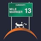 Curiosity: Mile Marker 13 by CosmoQuestX
