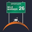 Opportunity: Mile Marker 26 by CosmoQuestX