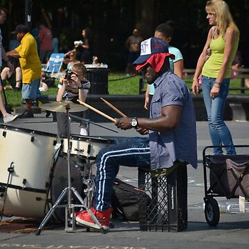 Drummin' by macymuirhead