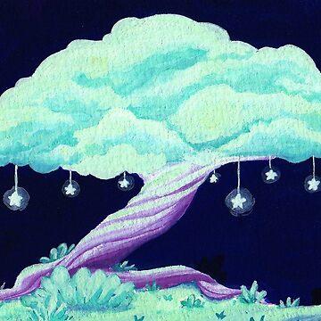 Star Tree by WWFoxStudio