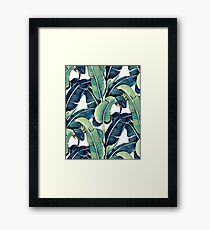 Banana Leaves Framed Print