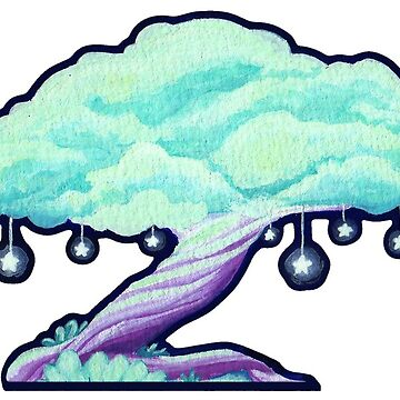 Star Tree - Graphic Version by WWFoxStudio